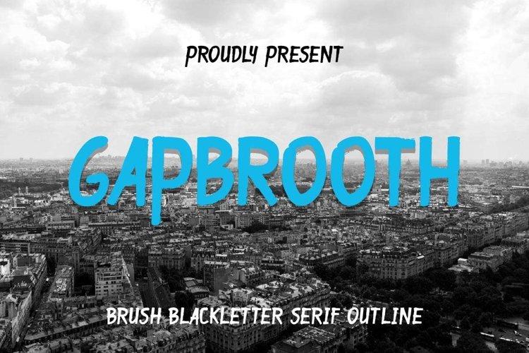 Gapbrooth example image 1