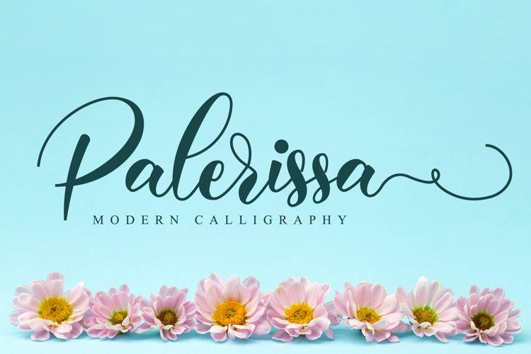 Palerissa Script example image 1