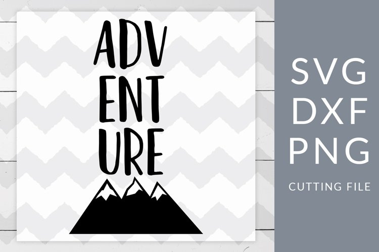 Adventure Camping SVG, DXF, PNG, Cut File