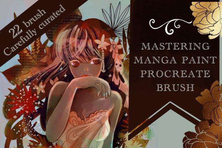 Mastering manga procreate brush