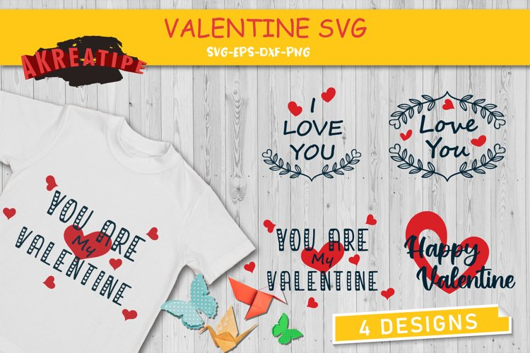 Valentine's Day SVG | Valentine's Bundle | Cut File example image 1