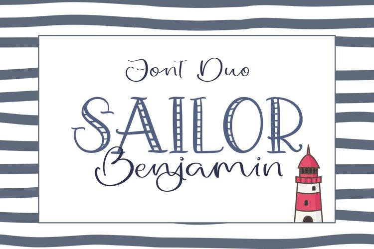 Sailor Benjamin Font Duo example image 1