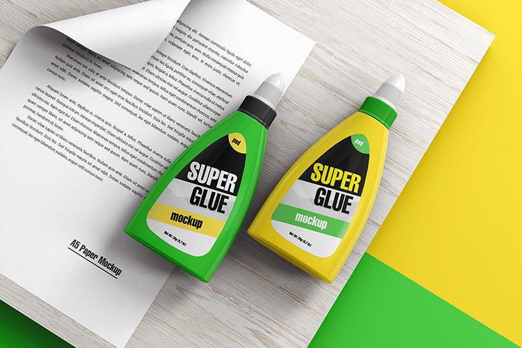 Glue Bottle Mockup example image 1