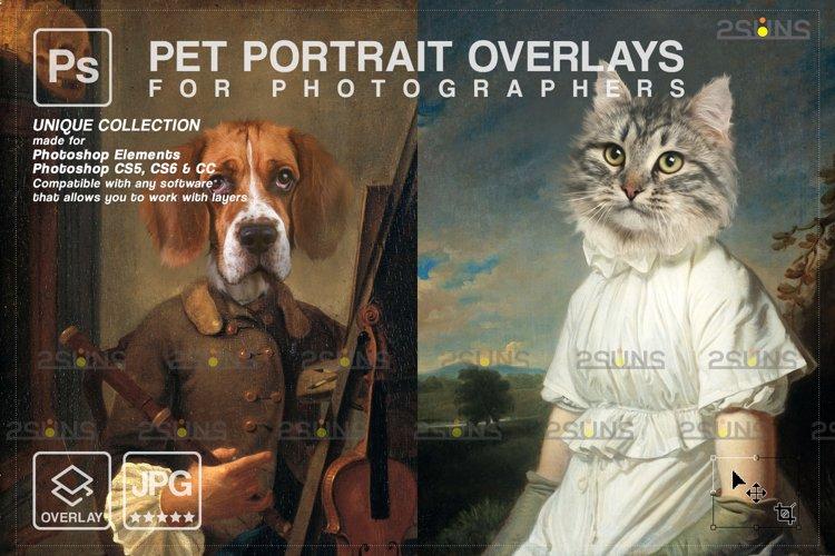 Royal Pet Portrait templates vol.15, Pet Painting example image 1