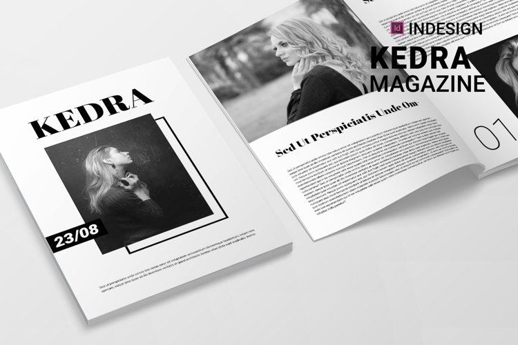 Kedra | Magazine example image 1