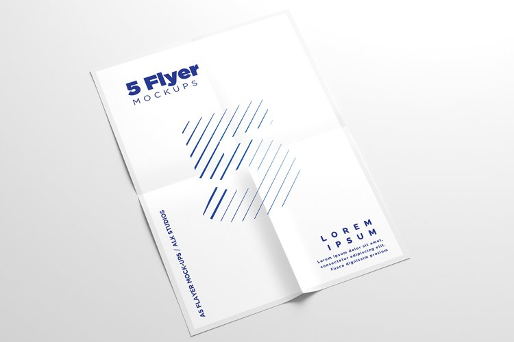 A5 Flyer Mock-Ups example image 1