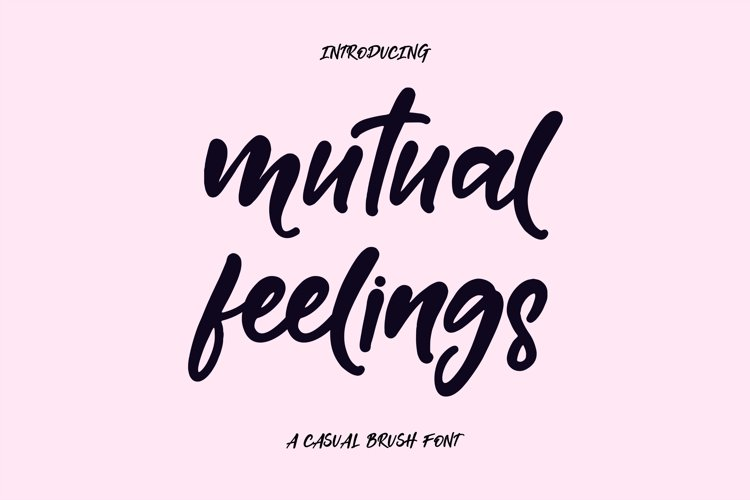Mutual Feelings example image 1