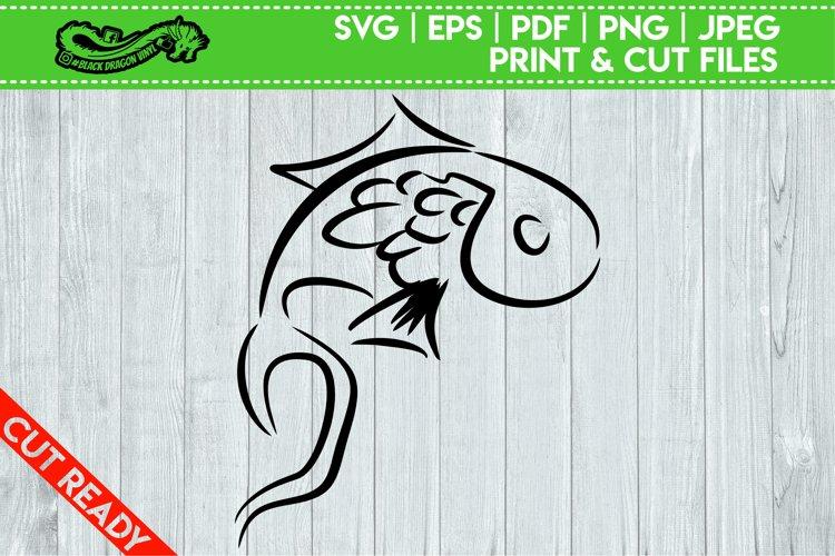 Tribal Koi Fish example image 1