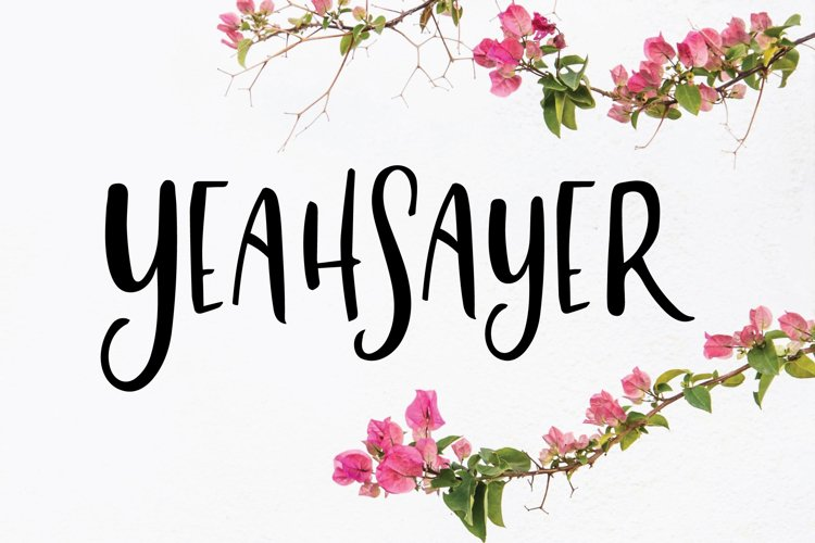 Yeahsayer | Bohemian Sans Seif example image 1