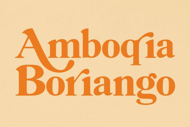 Amboqia Boriango example image 1