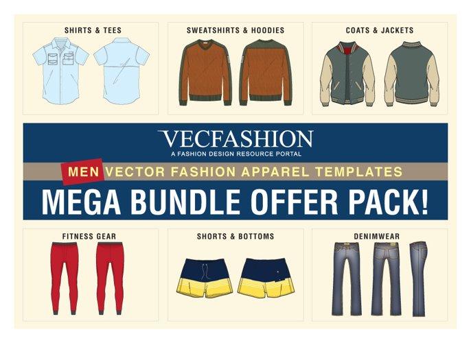 Men Fashion Templates Mega Bundle Offer Pack!