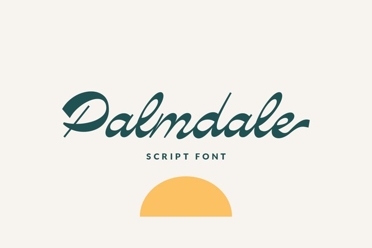 Palmdale Script example image 1