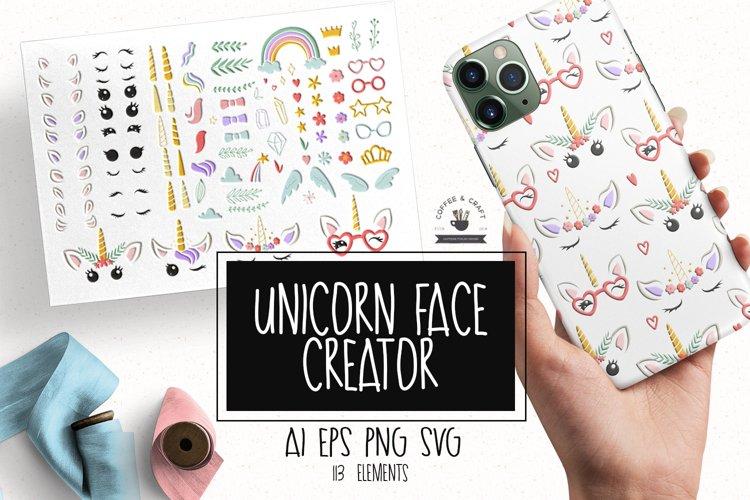 Unicorn face creator