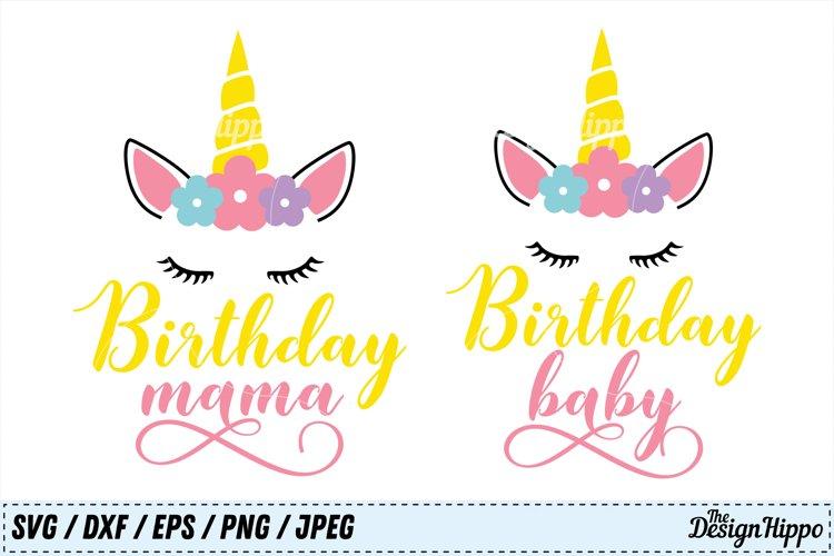 Birthday SVG Bundle, Birthday Baby SVG, Birthday Mama SVG