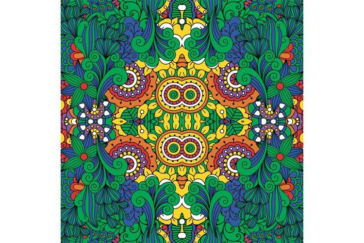 Lovely full frame floral design background example image 1