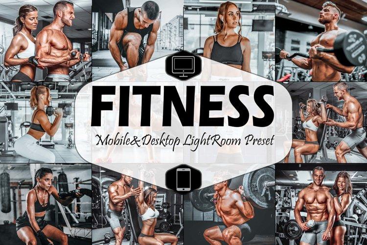 10 Fitness Mobile & Desktop Lightroom Presets, bodybuilding