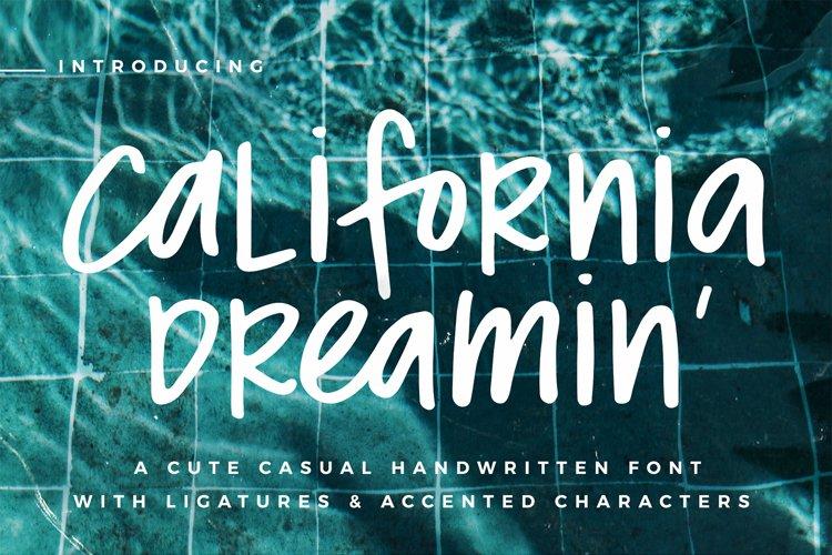 California Dreamin' Font example image 1