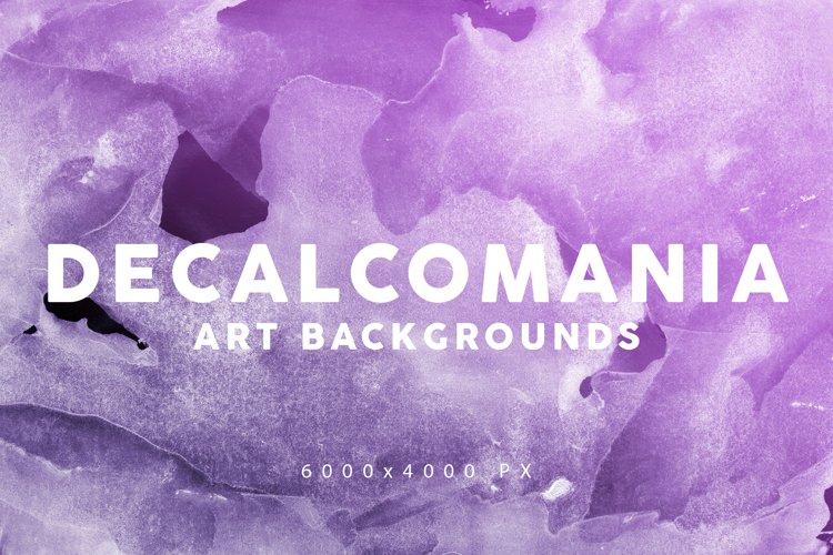 Decalcomania Artistic Textures 3 example image 1