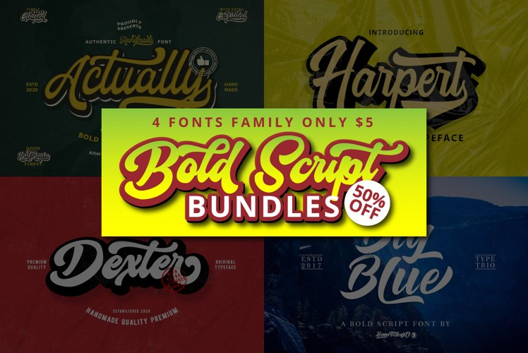 Bold Script Bundles