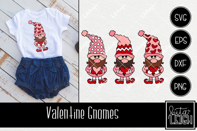 Valentine's Day Gnomes with Chevron, Dots and Heart Details example image 1