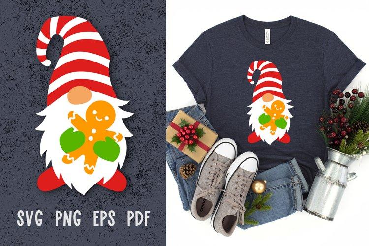 Christmas gnome svg cut files Christmas svg files for cricut example image 1