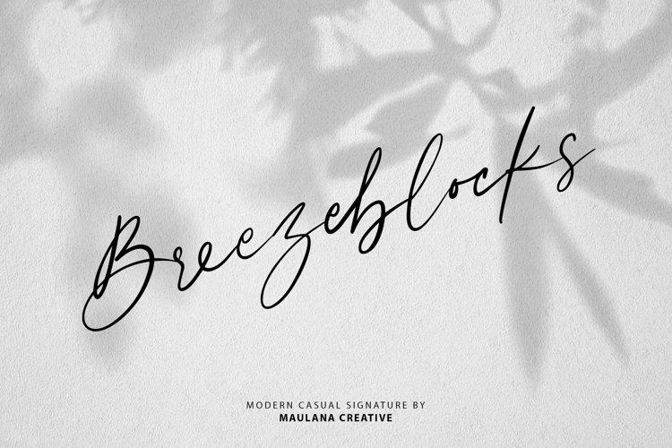 Breezeblocks Modern Casual Signature example image 1