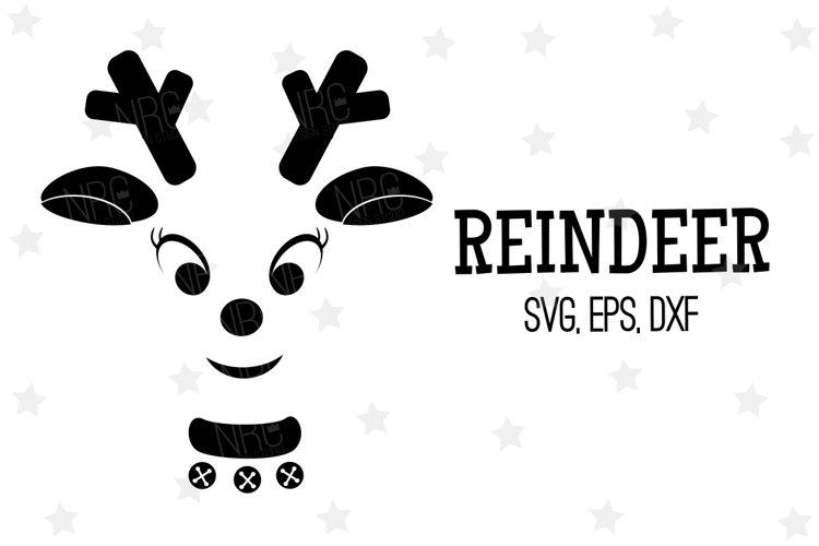 Reindeer SVG File, Silhouette
