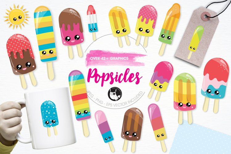 Popsicles  graphics and illustrations example image 1