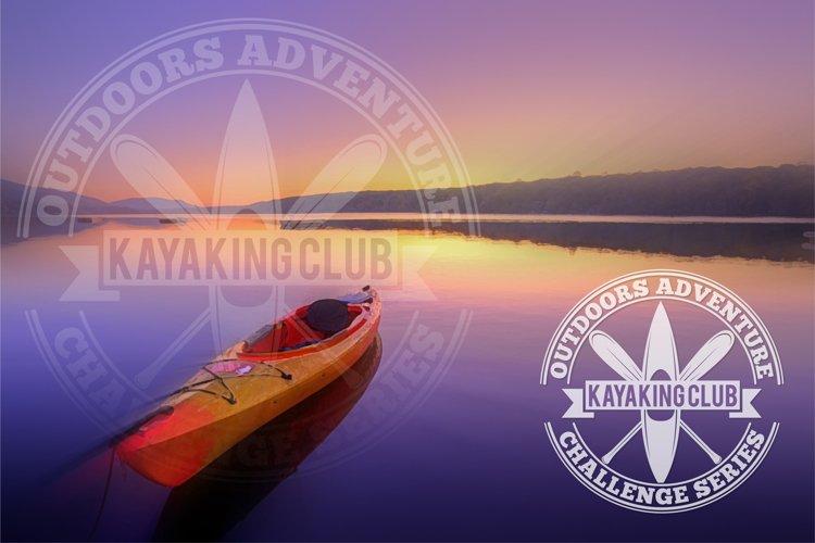 kayaking club logo example image 1