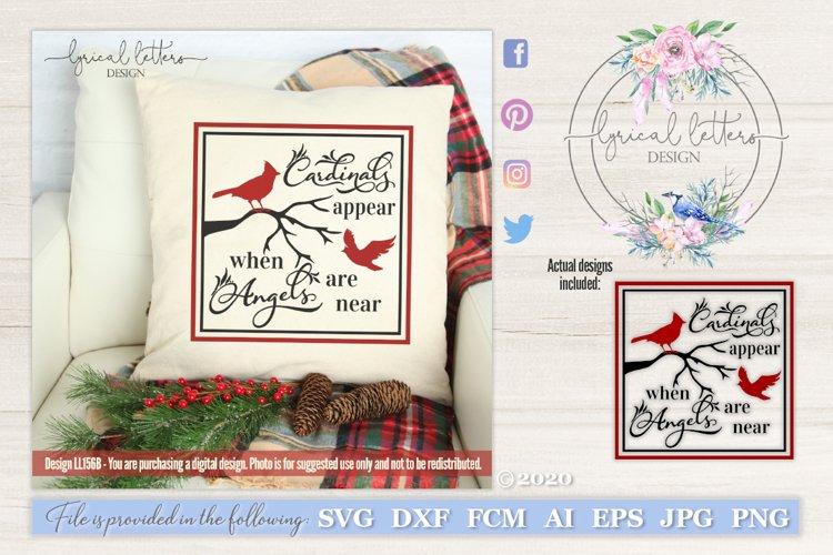 Cardinals Appear When Angels Are Near Svg Ll156b 12882 Cut Files Design Bundles