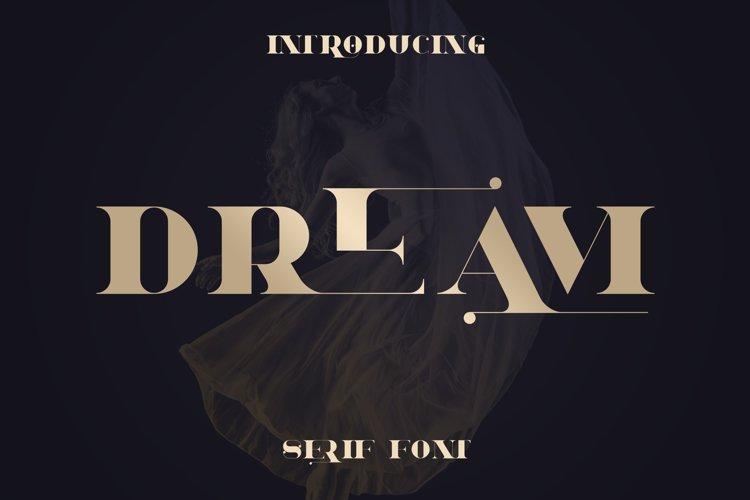 Dream - Magical Serif Font example image 1