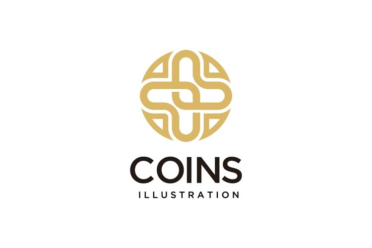 golden coin sign example image 1