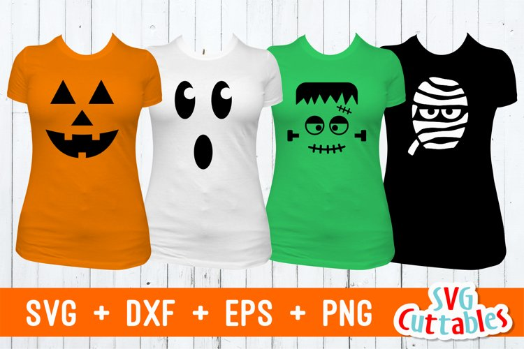 Halloween Faces | Halloween SVG example image 1