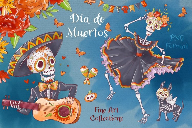 Dia de Muertos example image 1
