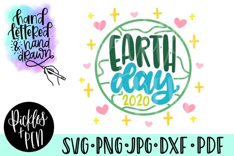 earth day svg - earth day 2020 example image 1