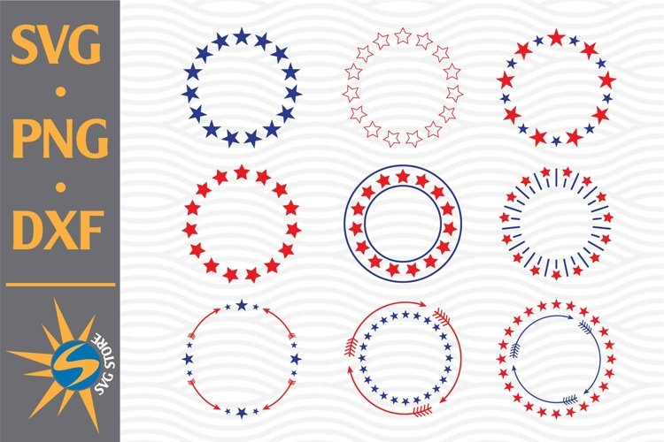 Star Monogram Svg Png Dxf Digital Files Include 757622 Cut Files Design Bundles