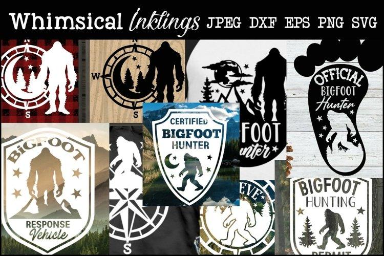 The Bigfoot SVG Bundle