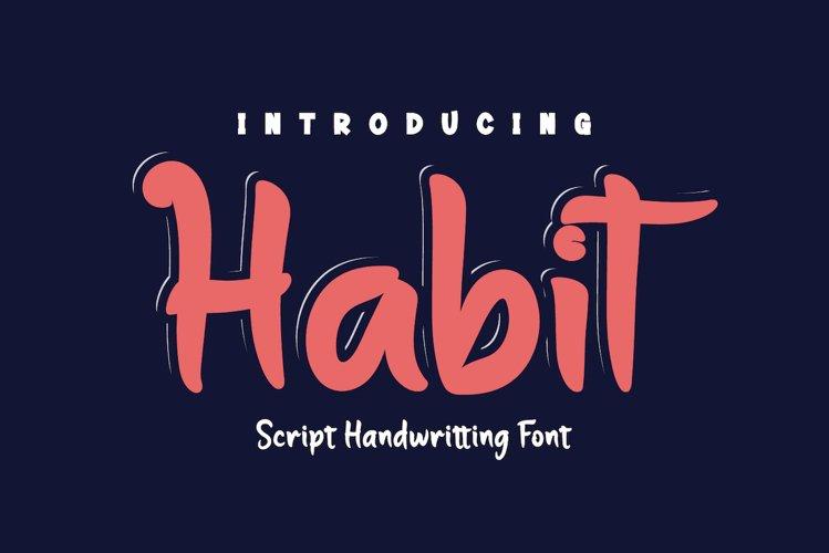 Habit example image 1