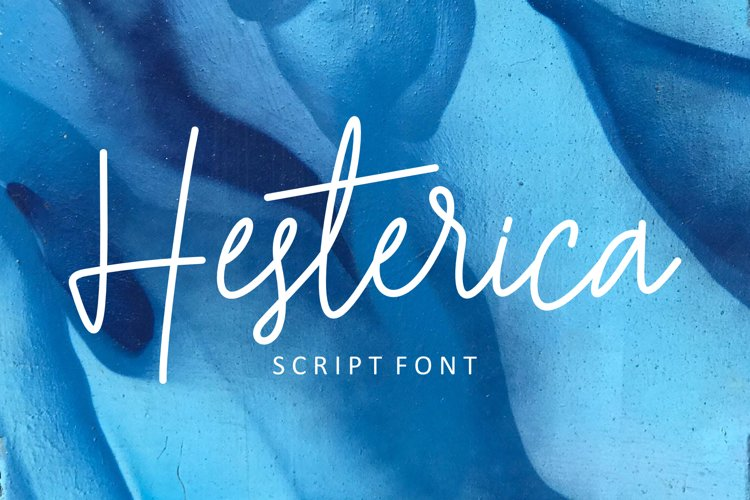 Hesterica | Script Font example image 1