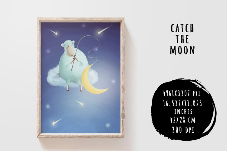 Catch the moon example image 1