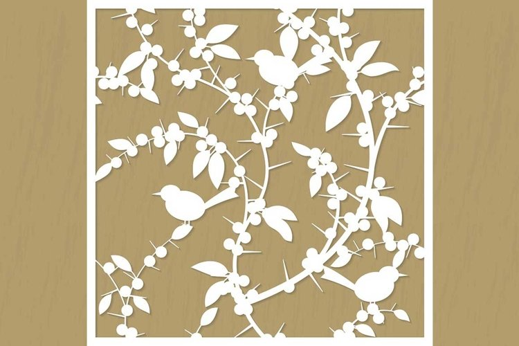 Pattern for cutting blackthorn example image 1