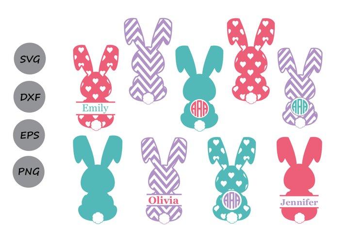 Bunny SVG, Easter Bunny Svg, Easter Svg, Rabbit SVG, Bunny. example image 1