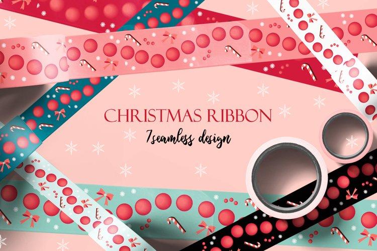 Holiday packing tapes and ribbons/ png. jpeg. eps10. ai example image 1
