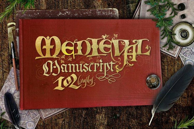 Medieval Manuscript Creator Kit