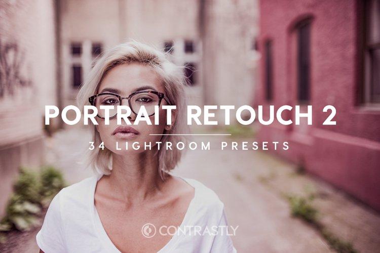 Portrait Retouch Lightroom Presets Volume 2 example image 1