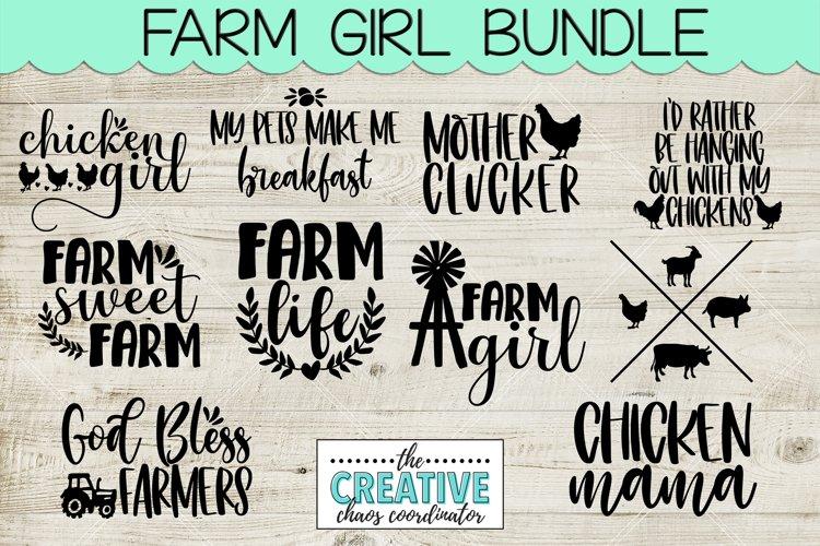 Farm Girl SVG Bundle