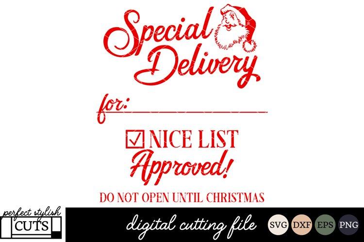 Santa Sack Svg Christmas Svg Special Delivery Svg File 118558 Svgs Design Bundles