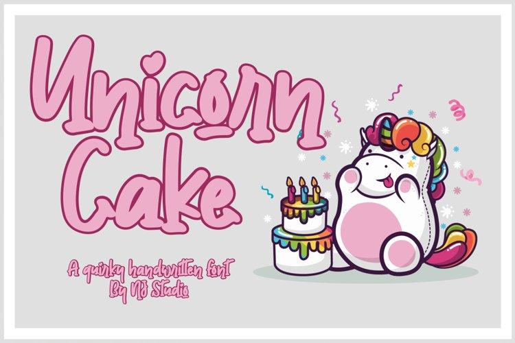 Unicorn Cake example image 1