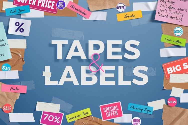 Tapes & Labels example image 1