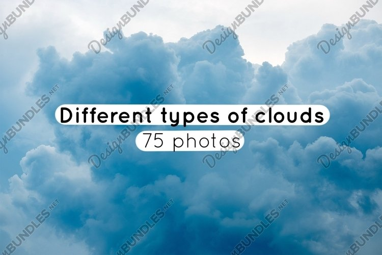 Different types of clouds at different times / 75 photos example image 1